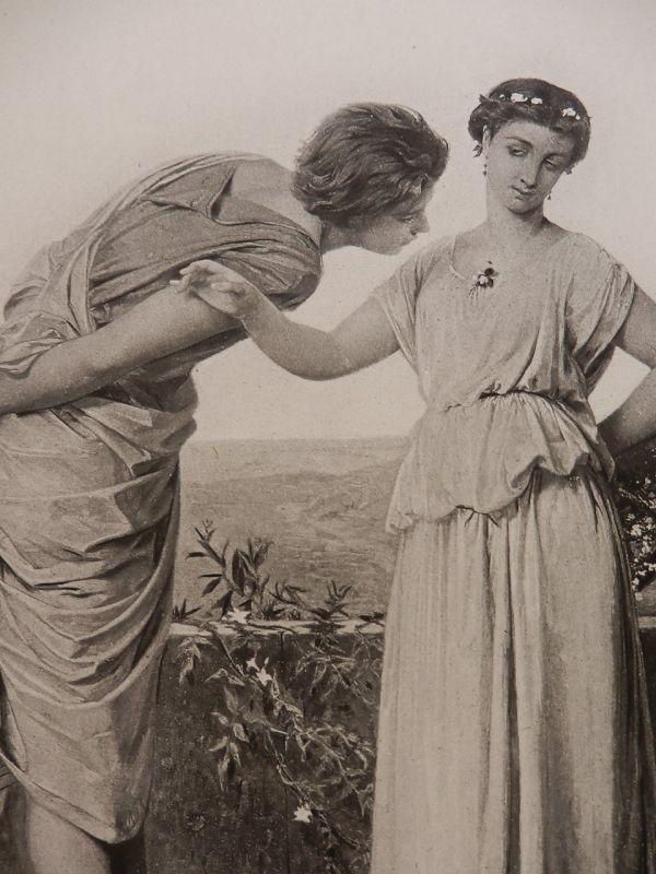 青春 ジャン・アーネスト・オベール 版画 1880年頃