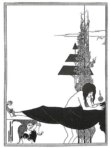 サロメ オーブリー・ビアズリー 版画 1900年